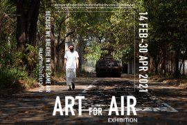 """นิทรรศการ """"Art For Air"""""""