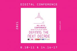 Res Artis 2021 Conference: Defining The Next Decade