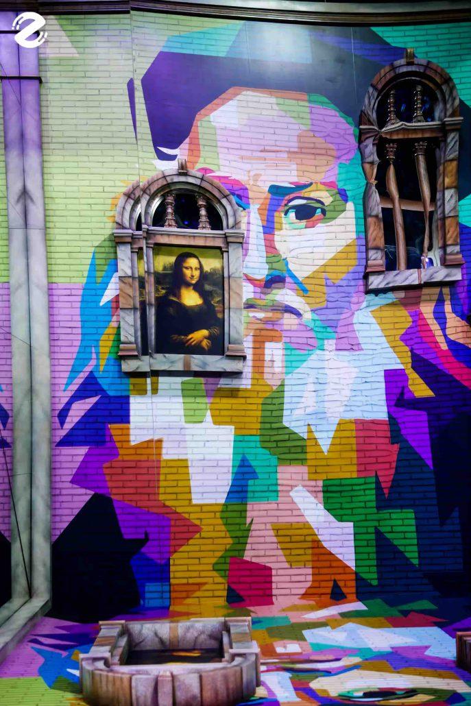 House of illumination : Think like Da Vinci