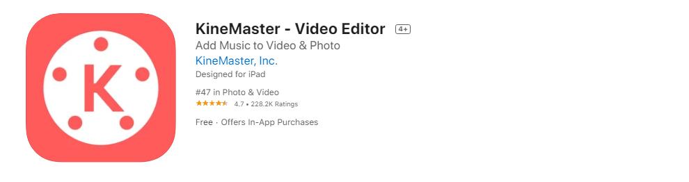 แอพตัดต่อวิดีโอ