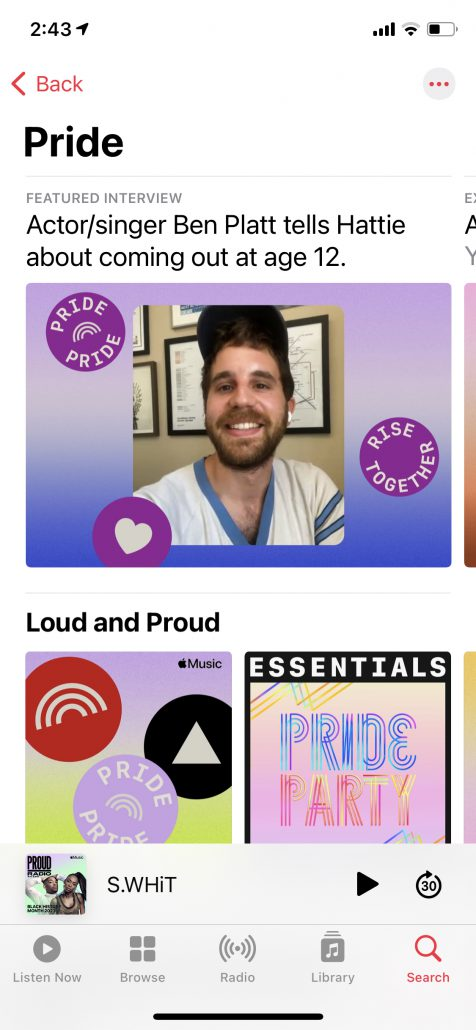 Apple Music Pride