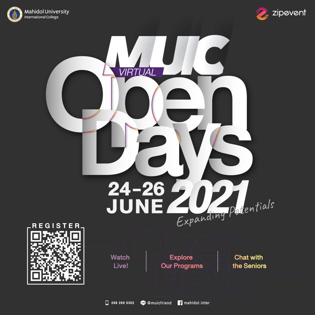 MUIC Virtual Open Days