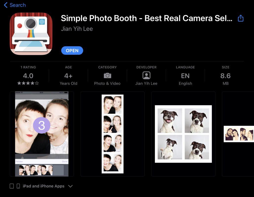 แอป Photobooth