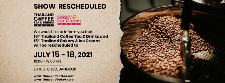 Thailand Coffee Tea & Drinks 2021 Zipevent