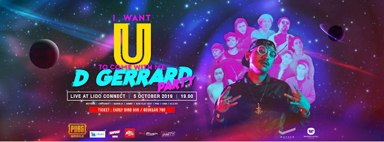 I WANT U TO COME WITH ME: D GERRARD PARTY Zipevent
