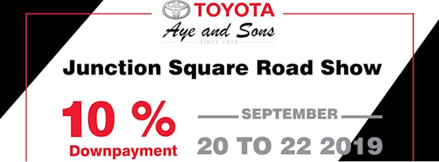 Toyota Aye and Sons Roadshow Zipevent