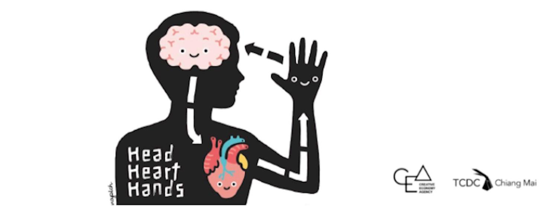 CMDW19 Talks 'HEAD HEART HAND'  / 'หัวไว ใจสู้ รู้ทำ'  Zipevent