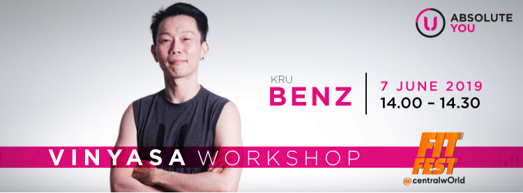 YOGA WORKSHOP WITH KRU BENZ Zipevent