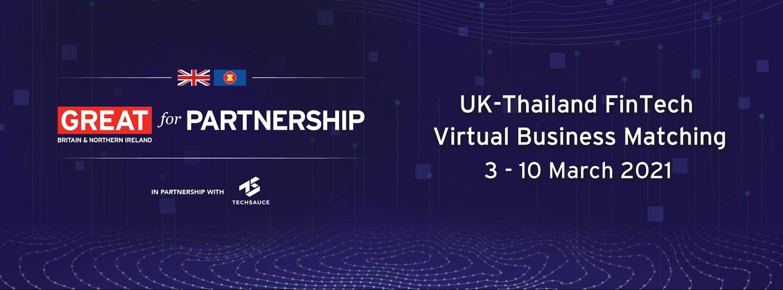 UK-Thailand FinTech Virtual Business Matching Zipevent