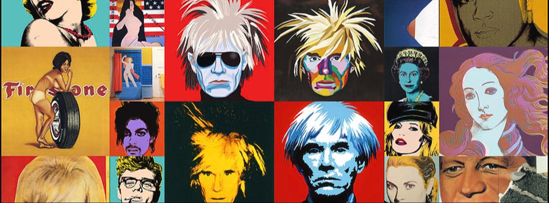 Andy Warhol Pop Art  Copy Portrait Painting Class Zipevent