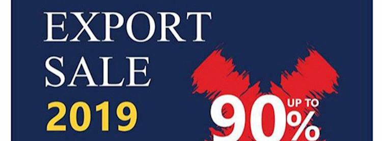 Export Sale 2019 Zipevent