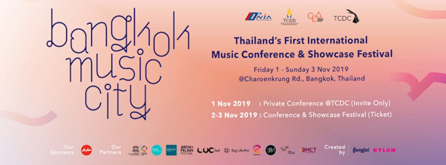 [Showcase Festival] Bangkok Music City 2019 Zipevent