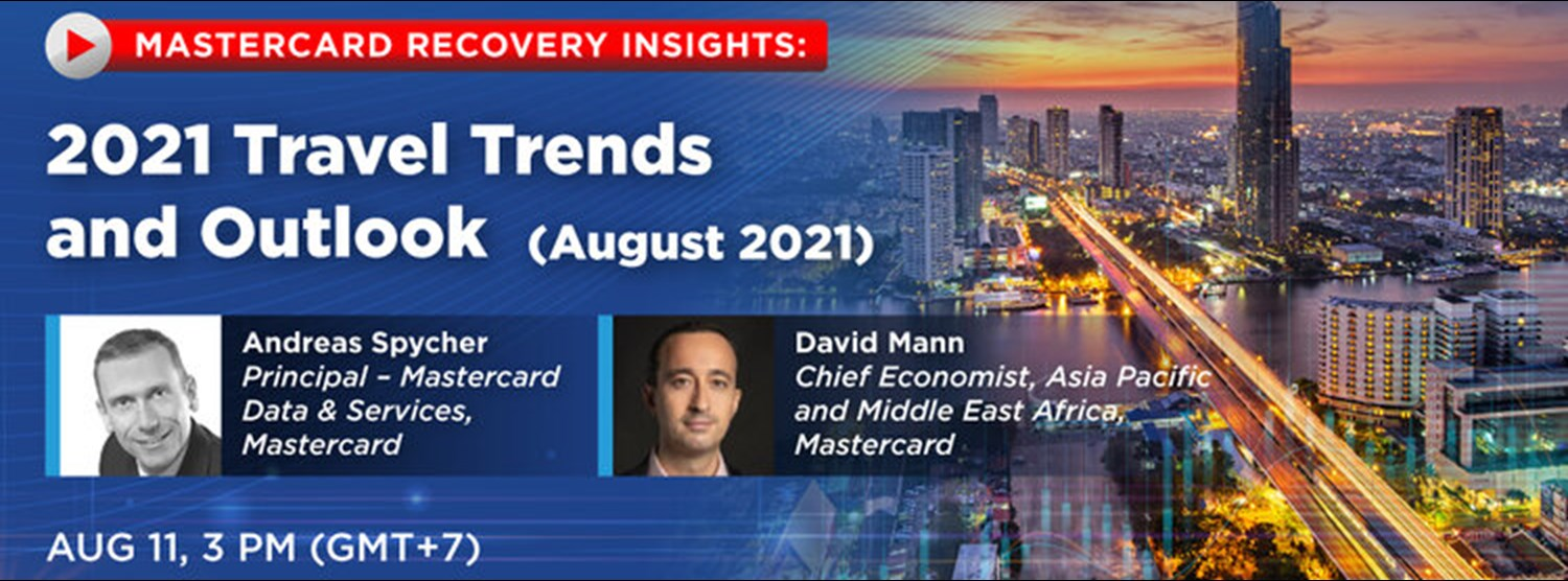 Mastercard Recovery Insights: 2021 Travel Trends and Outlook Zipevent