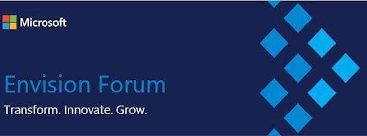 Microsoft Envision Forum: Invitation on behalf of Microsoft MM Zipevent