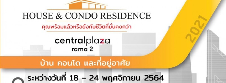 House & Condo Residence@centralplaza Rama2 Zipevent