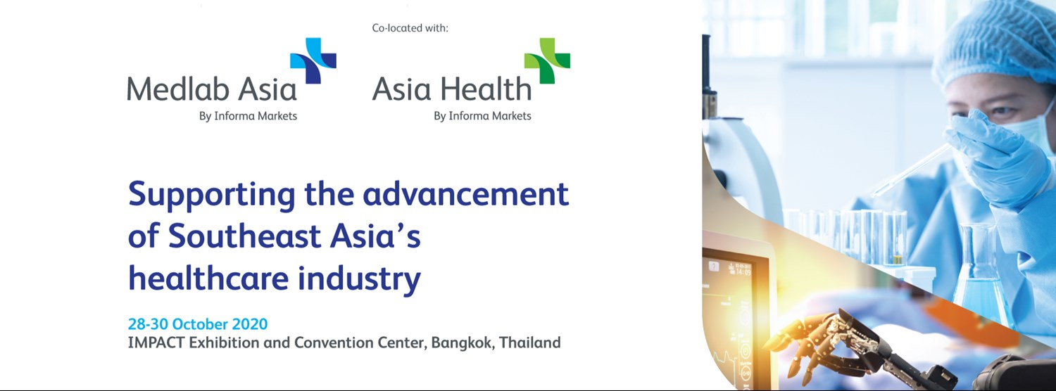 Medlab Asia & Asia Health 2020 (Virtual Edition) Zipevent