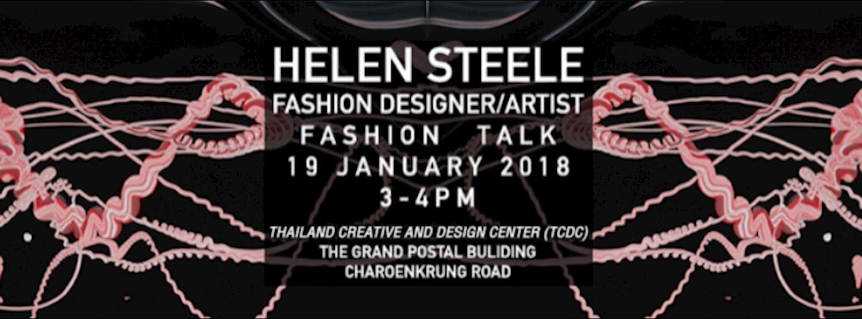 Helen Steele Fashion Designer/Textile design Talk Zipevent