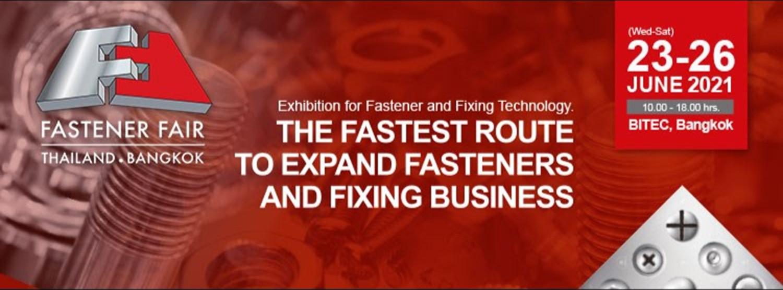 Fasteners Fair Thailand 2021 Zipevent