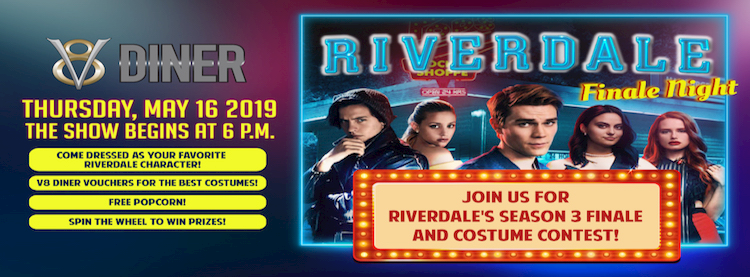 Riverdale Night at V8 Diner Zipevent