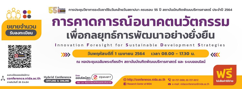 การคาดการณ์อนาคตนวัตกรรมเพื่อกลยุทธ์การพัฒนาอย่างยั่งยืน (Innovation foresight for sustainable development strategies) Zipevent