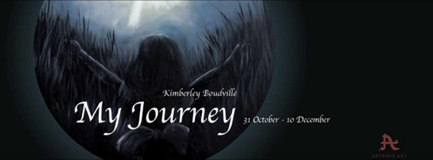"""My Journey"" - debut solo exhibition by Kimberley Boudville Zipevent"