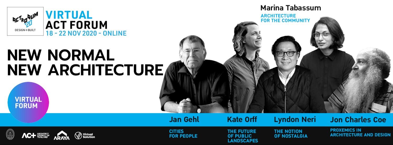 งานประชุมนานาชาติทางสถาปัตยกรรม และแสดงเทคโนโลยีผลิตภัณฑ์ก่อสร้าง (ACT FORUM '20 Design + Built) Zipevent