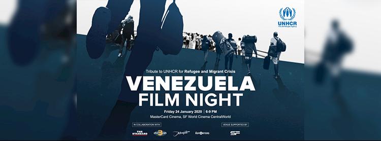 Venezuela Film Night – Tribute to UNHCR for Refugee and Migrant Crisis Zipevent