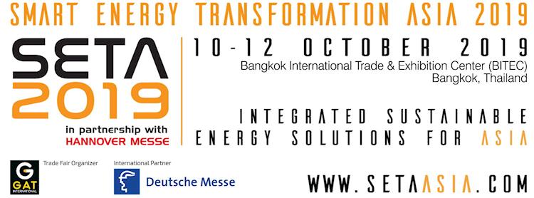 Smart Energy Transformation Asia 2019 (SETA 2019) Zipevent