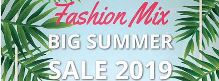 Fashion Mix Big Summer Sale 2019 Zipevent