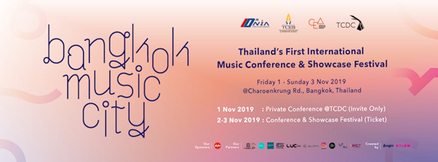 [Music Conference] Bangkok Music City 2019 Zipevent
