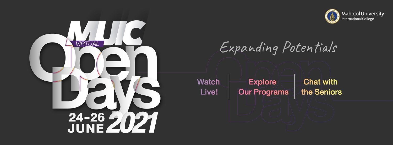 MUIC Virtual Open Days 2021 Zipevent