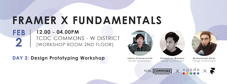 Framer X Fundamentals: Design Prototyping Workshop Zipevent