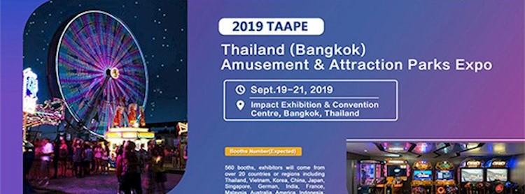 Thailand (Bangkok) Amusement & Attraction Parks Expo 2019 Zipevent