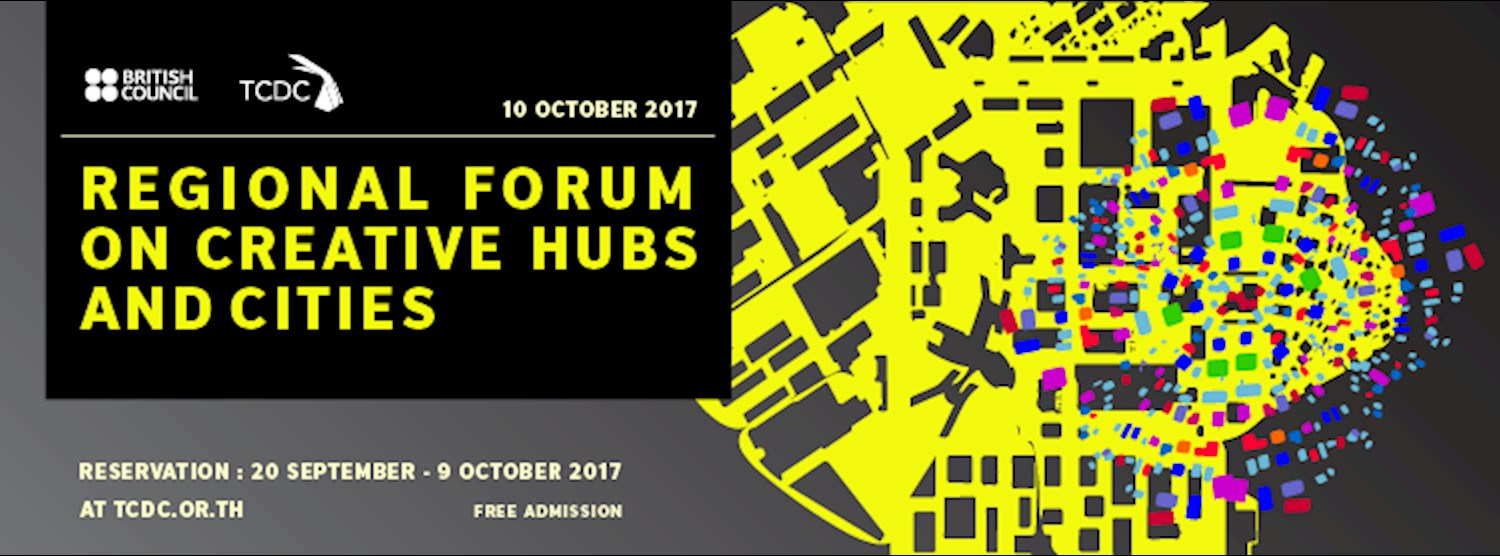 """The seminar """"Regional Forum on Creative Hubs and Cities"""" Zipevent"""