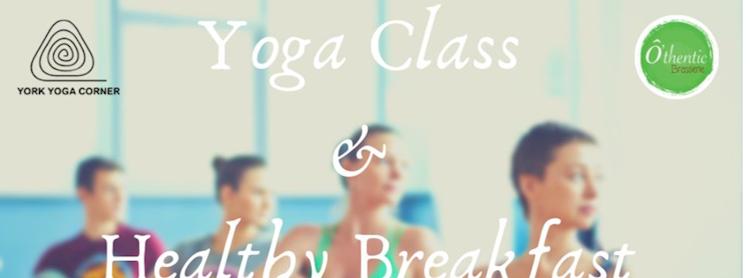 Yoga Class + Healthy Breakfast - 12,000ks Zipevent