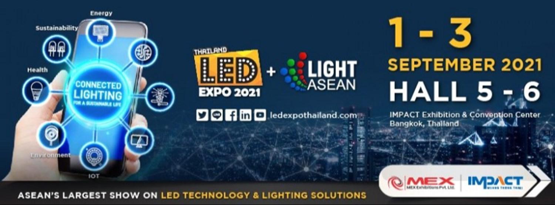 LED Expo Thailand + SMARTECH ASEAN 2021 Zipevent