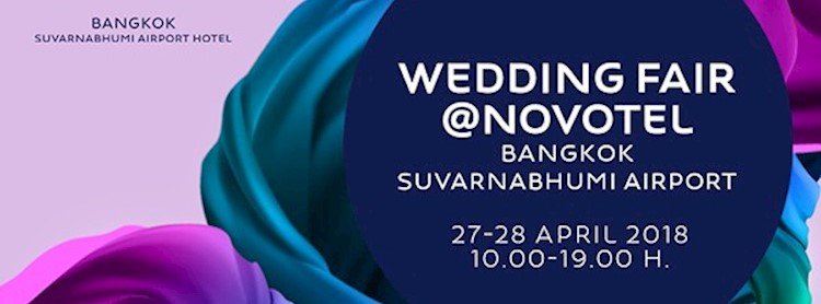 Wedding Fair 2019 @Novotel Zipevent