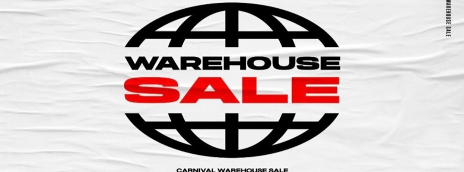 CARNIVAL Warehouse SALE Zipevent